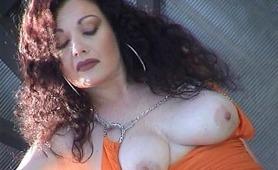 La splendida pornostar italiana Jessica Rizzo