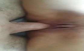 Puttana dalle tette grosse sfondata in figa dal figliastro